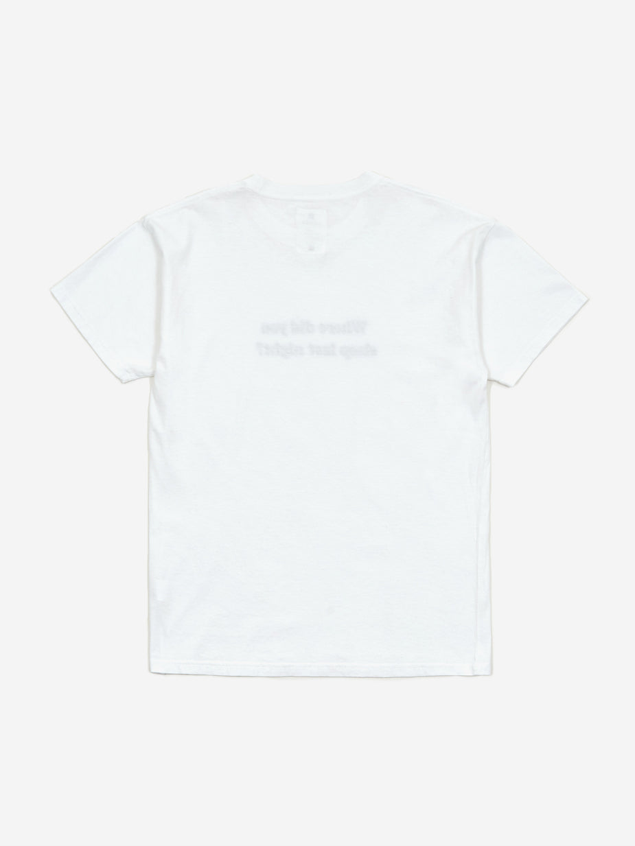 Goods By Goodhood Goods by Goodhood Don't Lie T-shirt - White - White