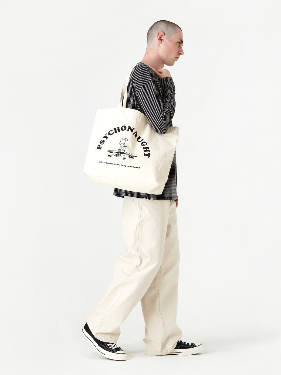 Goods By Goodhood Goods by Goodhood Psychonaught Tote Bag - Natural - Neutrals