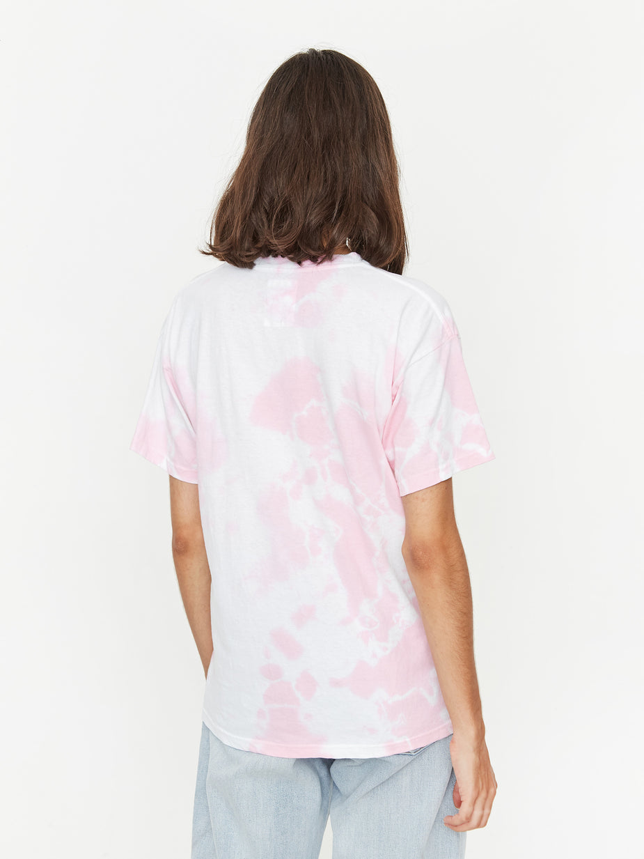 Goods By Goodhood Goods by Goodhood You Me Tee - Pink - Tie-Dye