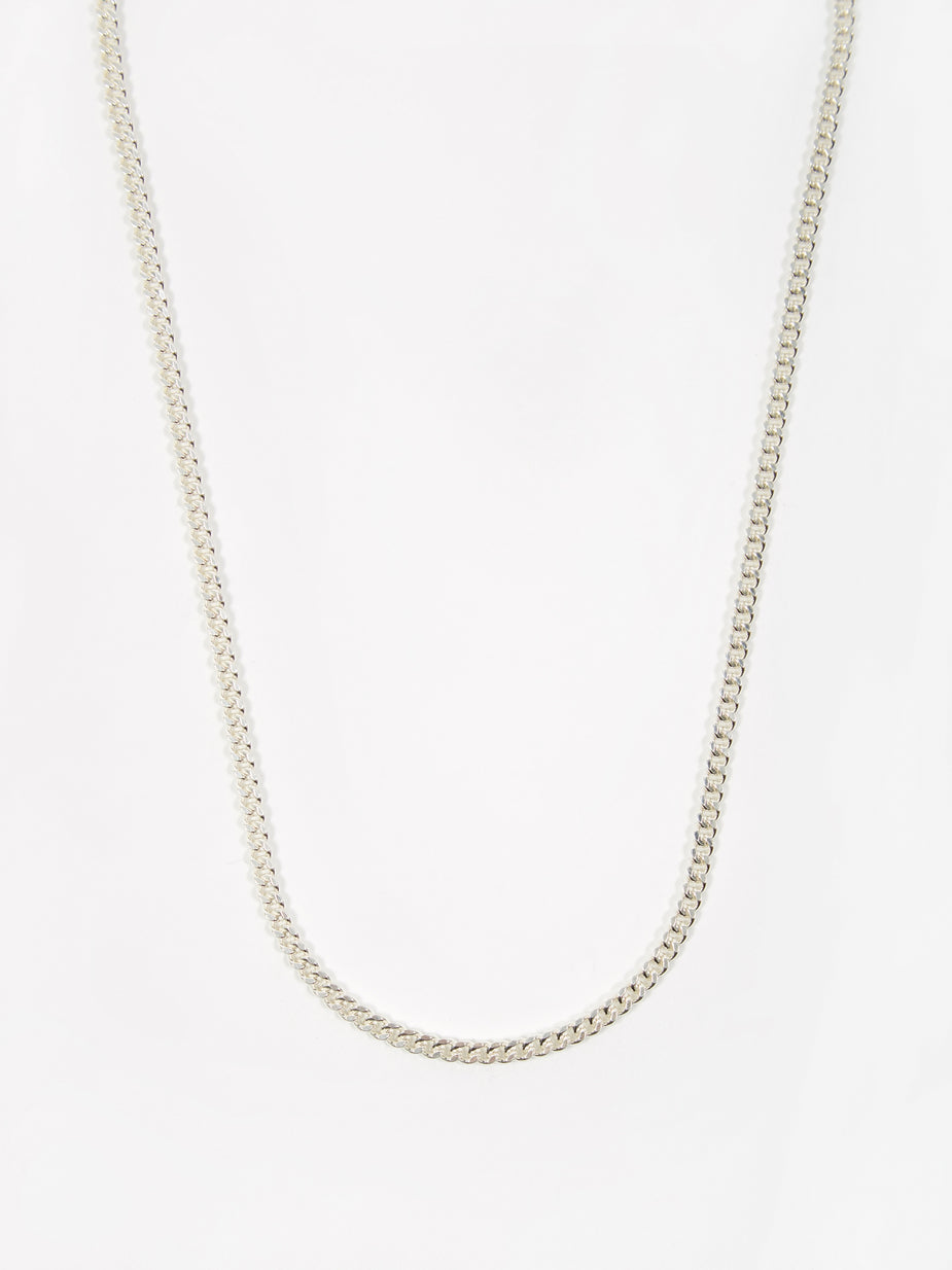 Goods By Goodhood Goods by Goodhood Curb Chain / Silver / 2.1mm Gauge / 60cm - 60cm - Silver