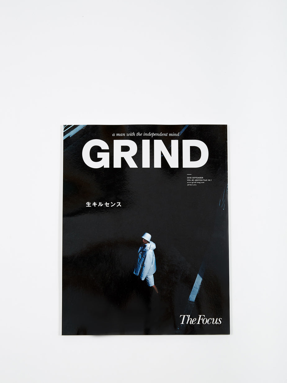 Grind Magazine Grind Magazine - Vol.84 Sep 2018 - Grey