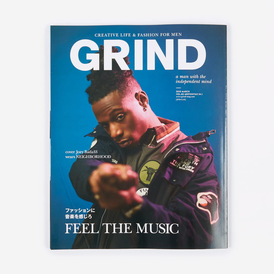 Grind Magazine Grind Magazine - Vol.80 March 2018 - Blue