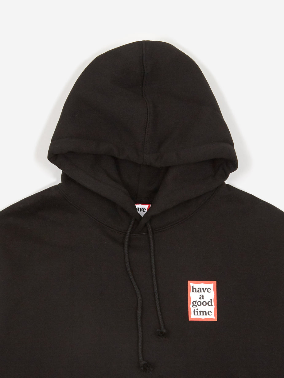 Have A Good Time Have A Good Time Mini Frame Pullover Hoodie - Black - Black