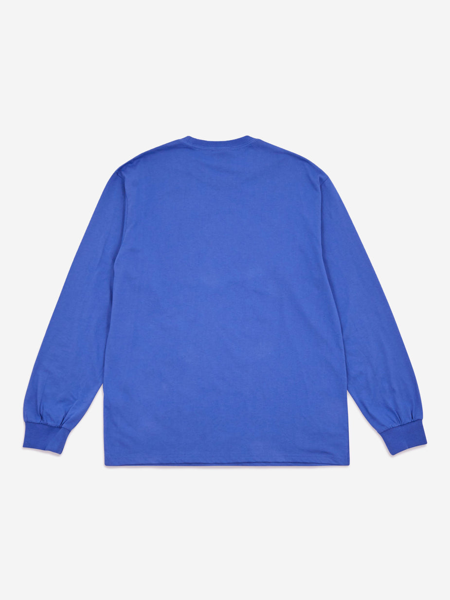 Have A Good Time Have A Good Time Side Logo Longsleeve T-Shirt - Azure - Blue