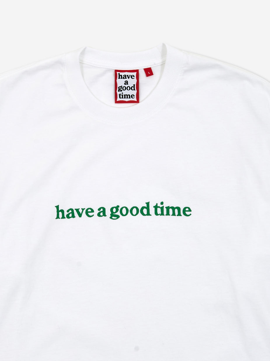 Have A Good Time Have A Good Time Side Logo Longsleeve T-Shirt - White - White