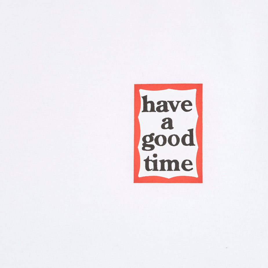 Have A Good Time Have A Good Time Mini Frame T-Shirt - White. - White