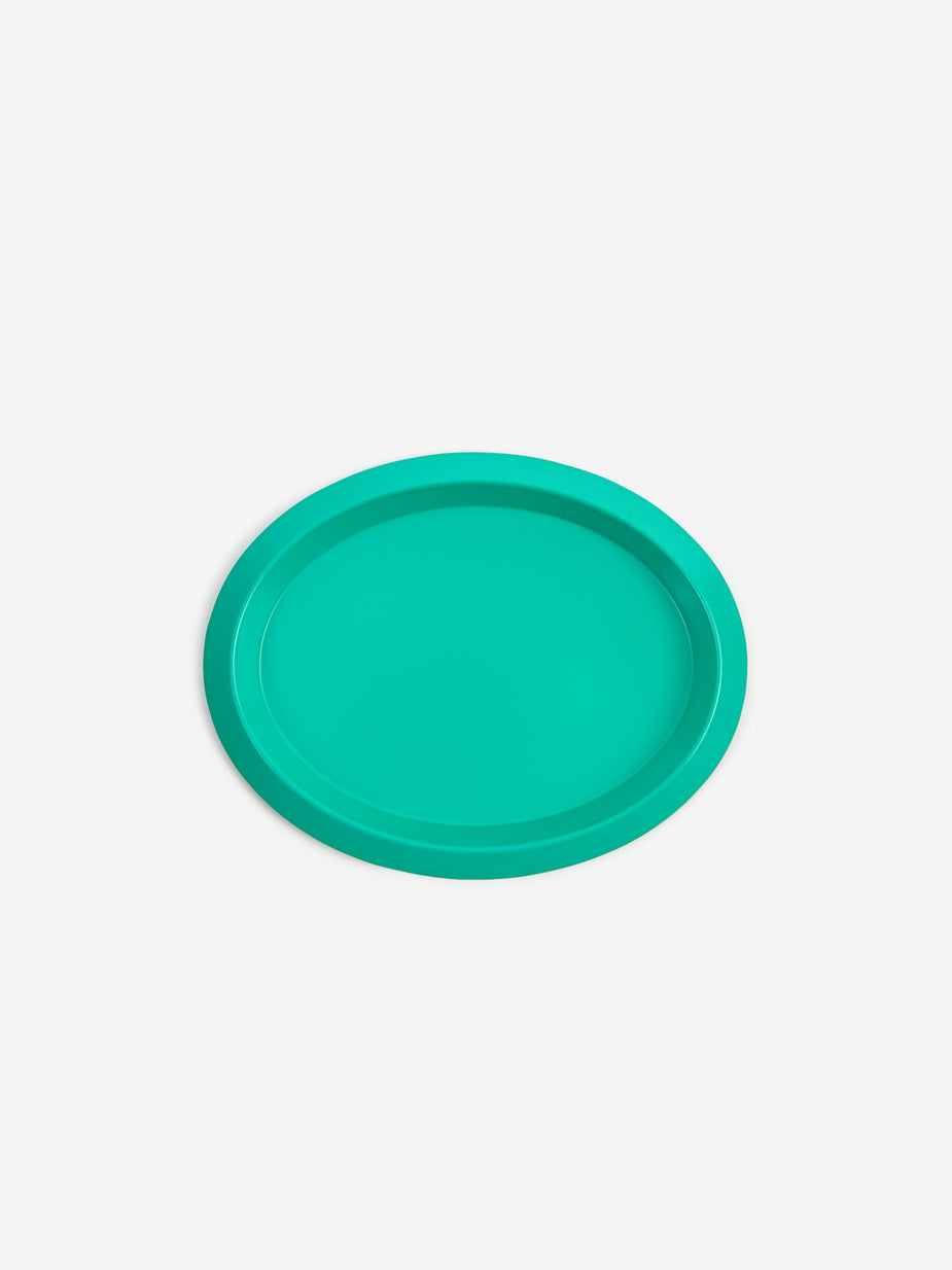 HAY HAY Ellipse Tray XS - Green - Green