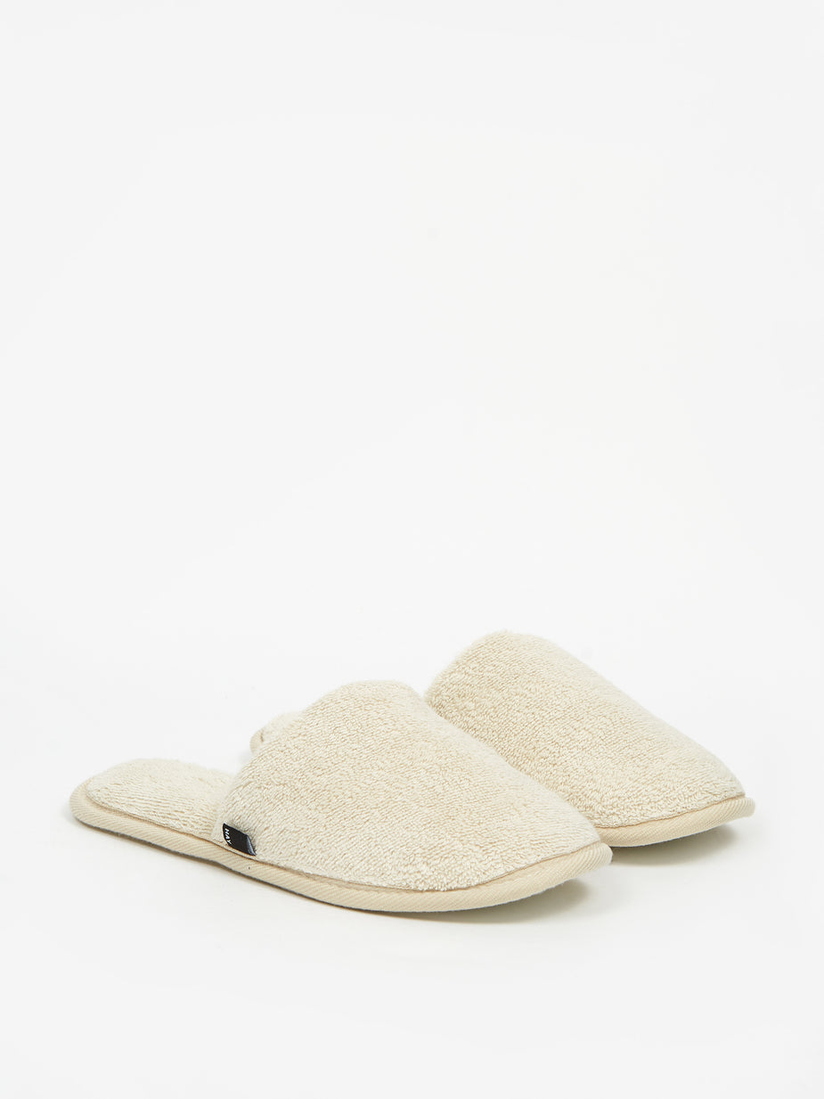 HAY Hay Frotte Slippers - Mint Green - Green
