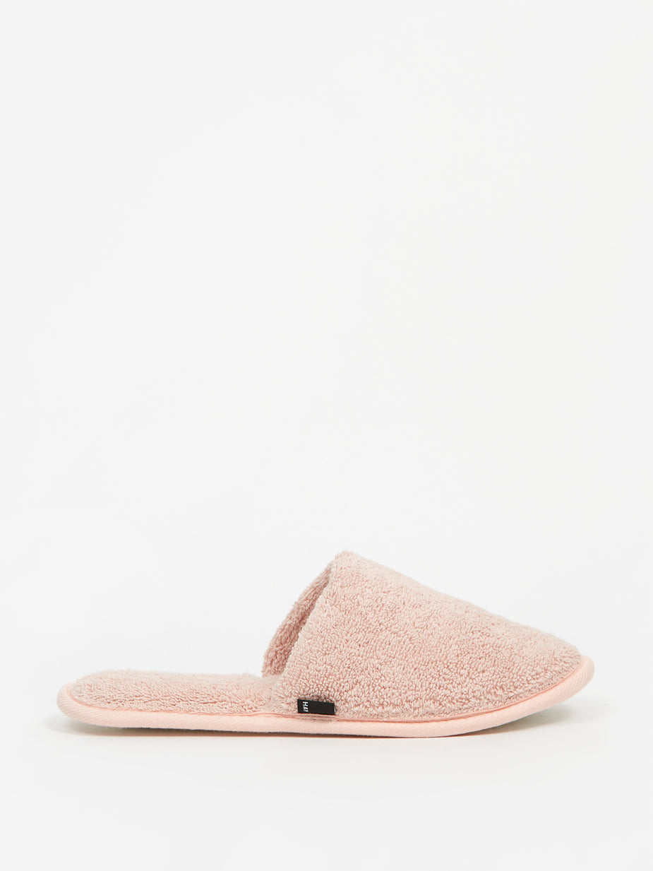 HAY Hay Frotte Slippers - Rose - Pink