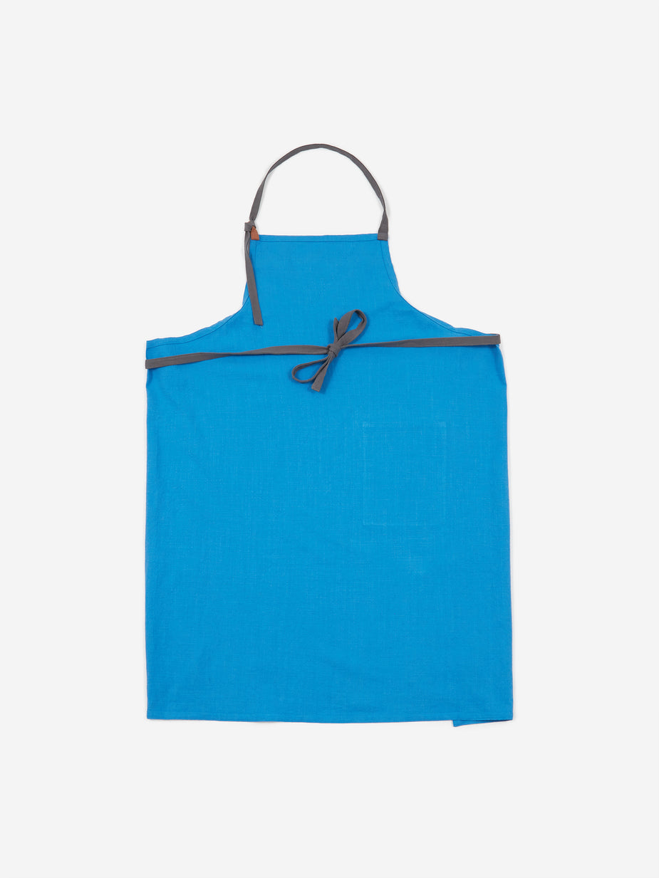 HAY HAY Wrap Apron - Sky Blue - Other
