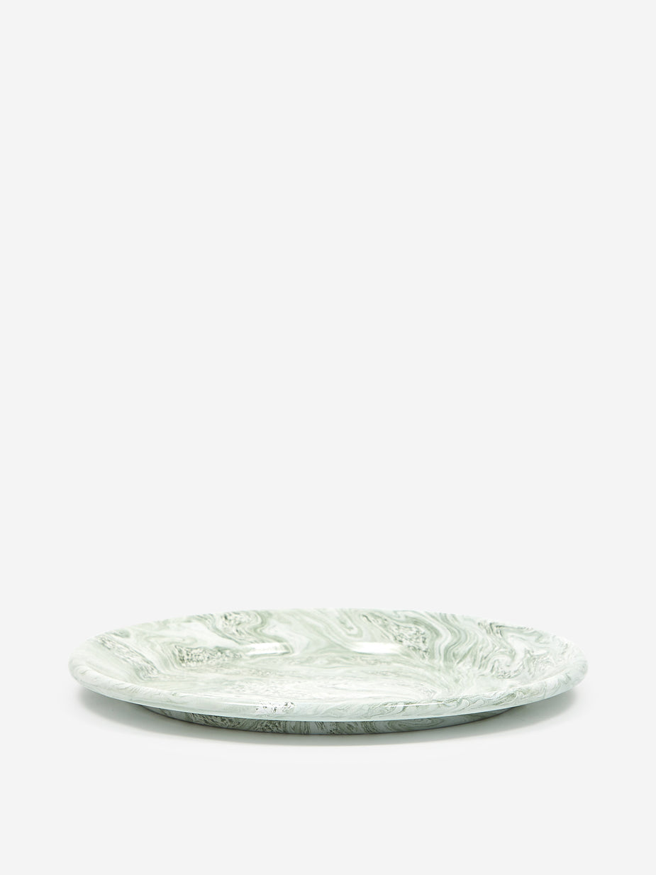 HAY Hay Soft Ice Dinner Plate - Green - Green