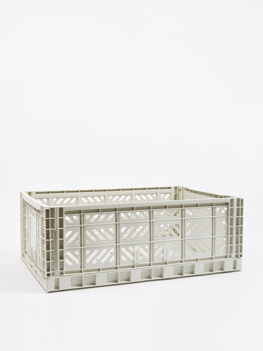 HAY Hay Colour Crate Large - Light Grey - Grey