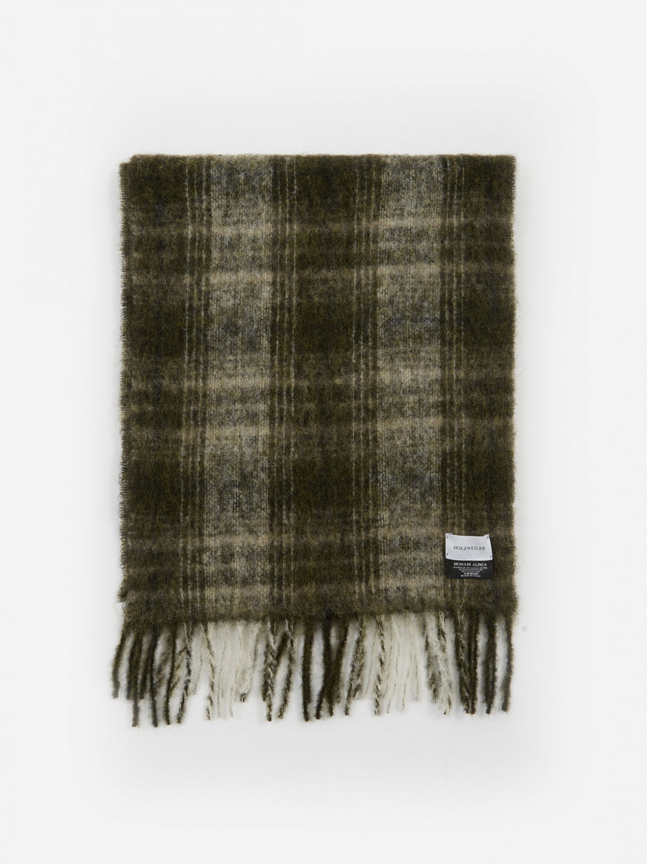 Holzweiler Holzweiler Fresia Check Scarf - Laurite - Other
