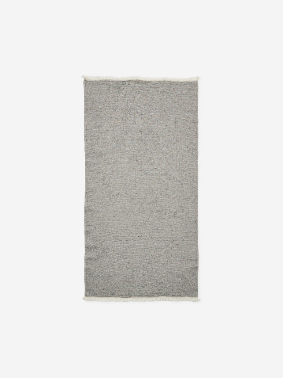 House Doctor House Doctor Latur Small Towel - Grey Melange - Grey