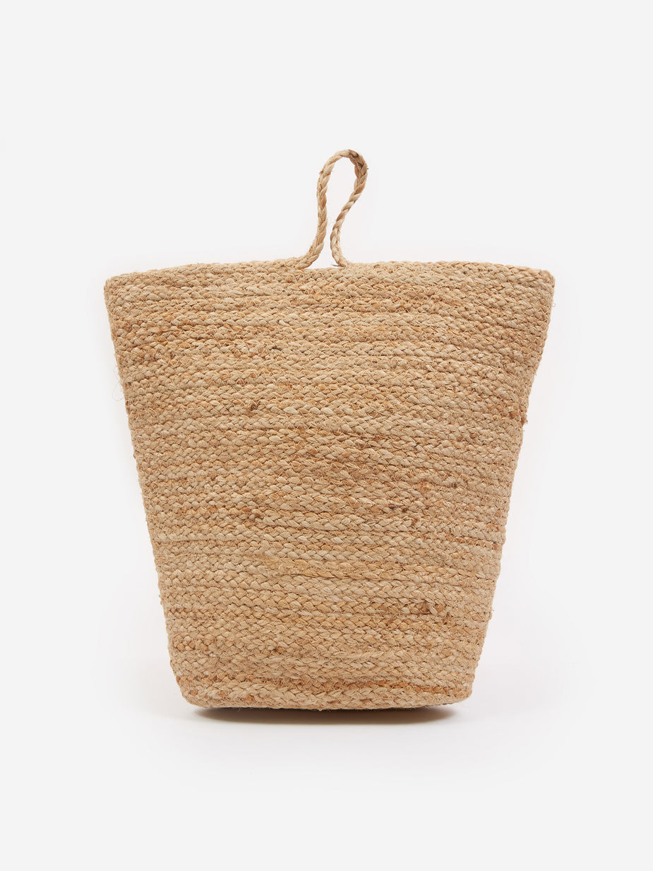 House Doctor House Doctor Mira Hemp Storage Basket - Large - Neutrals