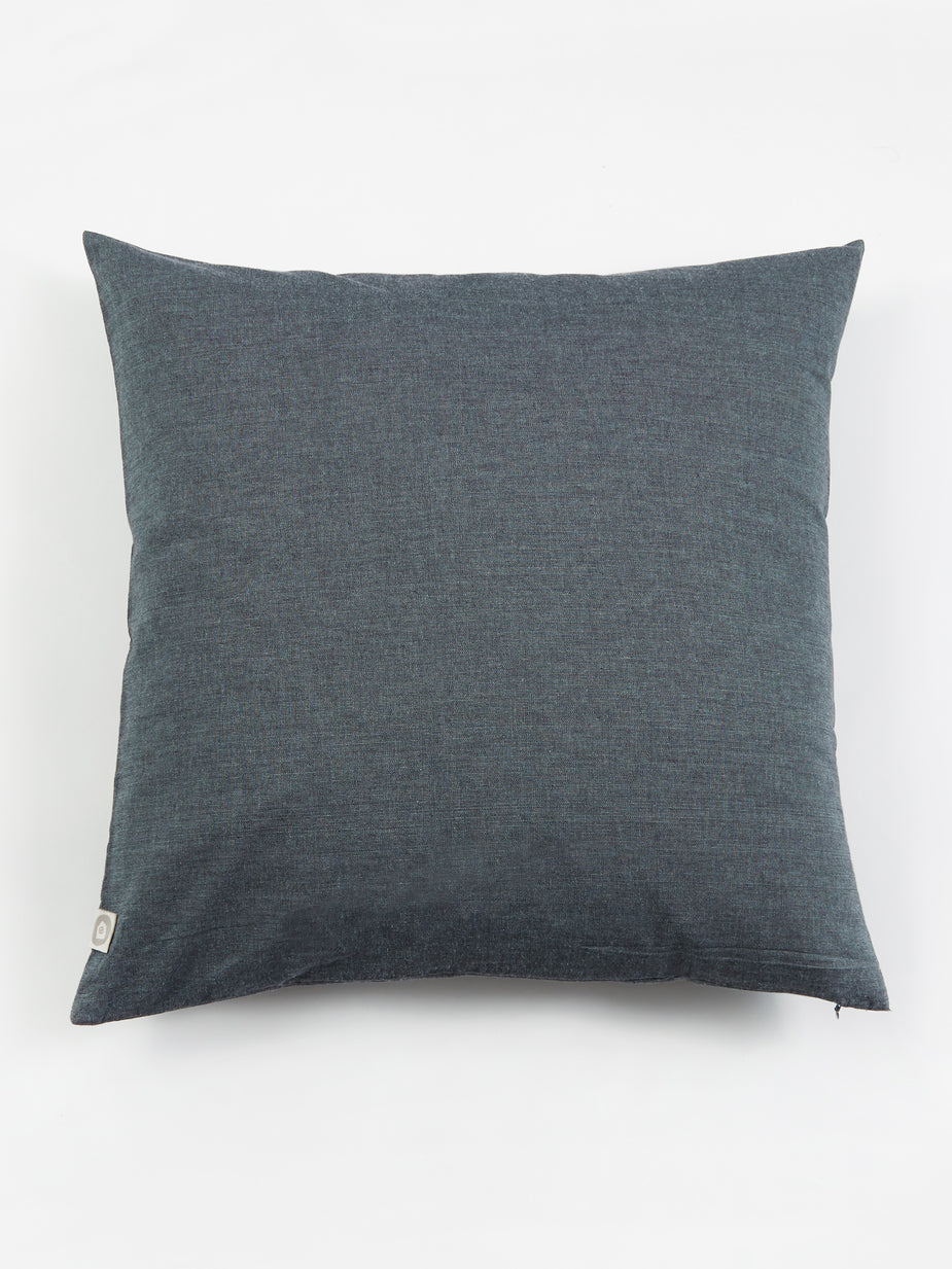 House Doctor House Doctor Blue Tria Cushion - 50x50cm - Other