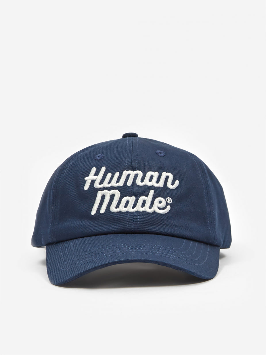 Human Made Human Made 6 Panel Twill Cap - Navy - Blue