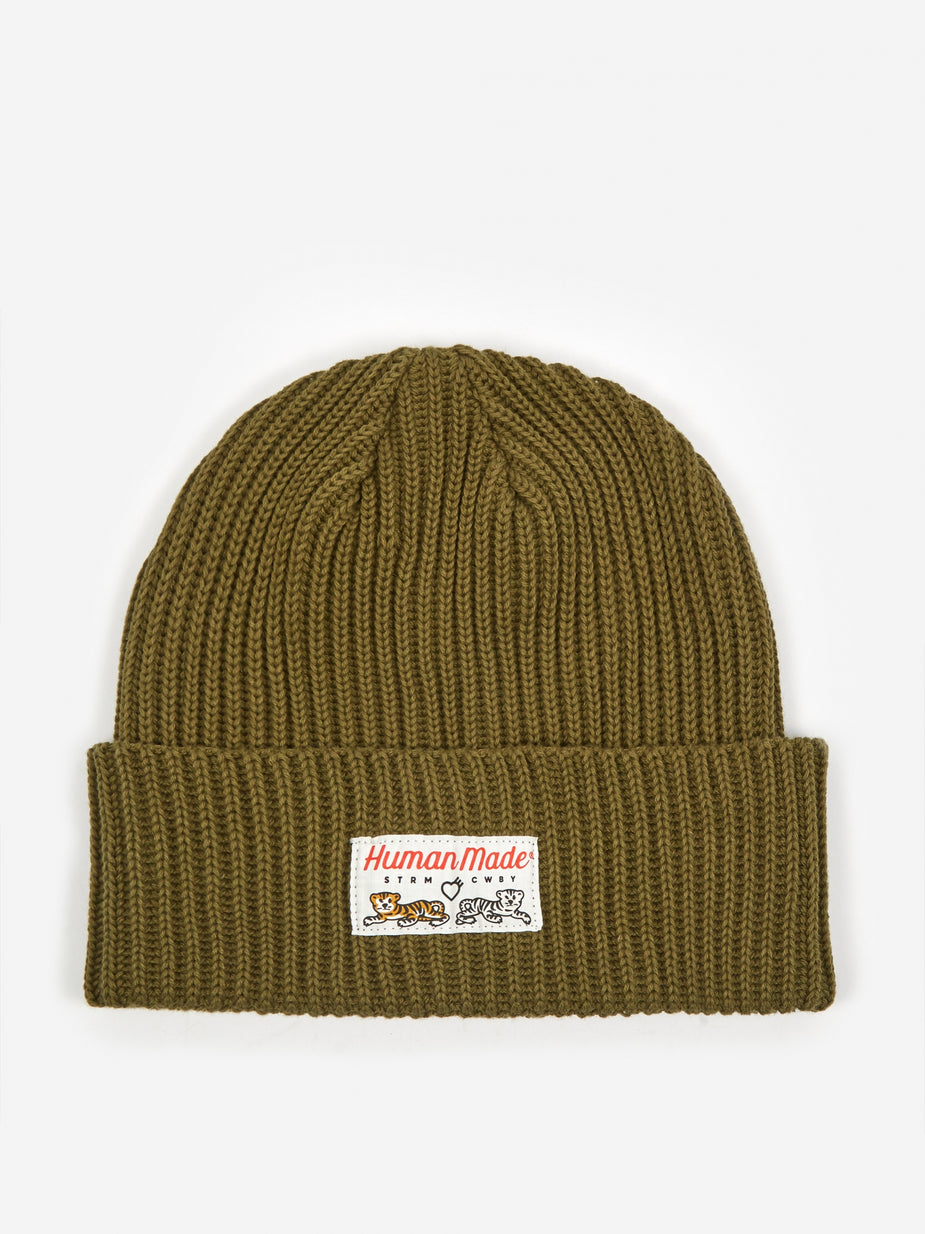 Human Made Human Made Beanie - Olive Drab - Green