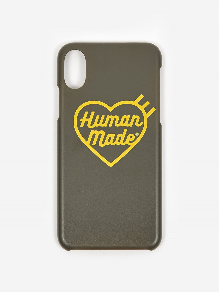 Human Made Human Made IPhone Case X/XS 2 - Olive Drab - Green