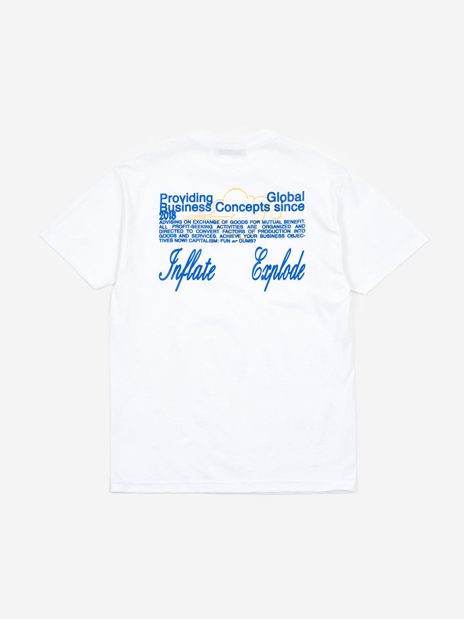 Junior Executive Junior Executive x Public Possession Shortsleeve T-Shirt - White - White