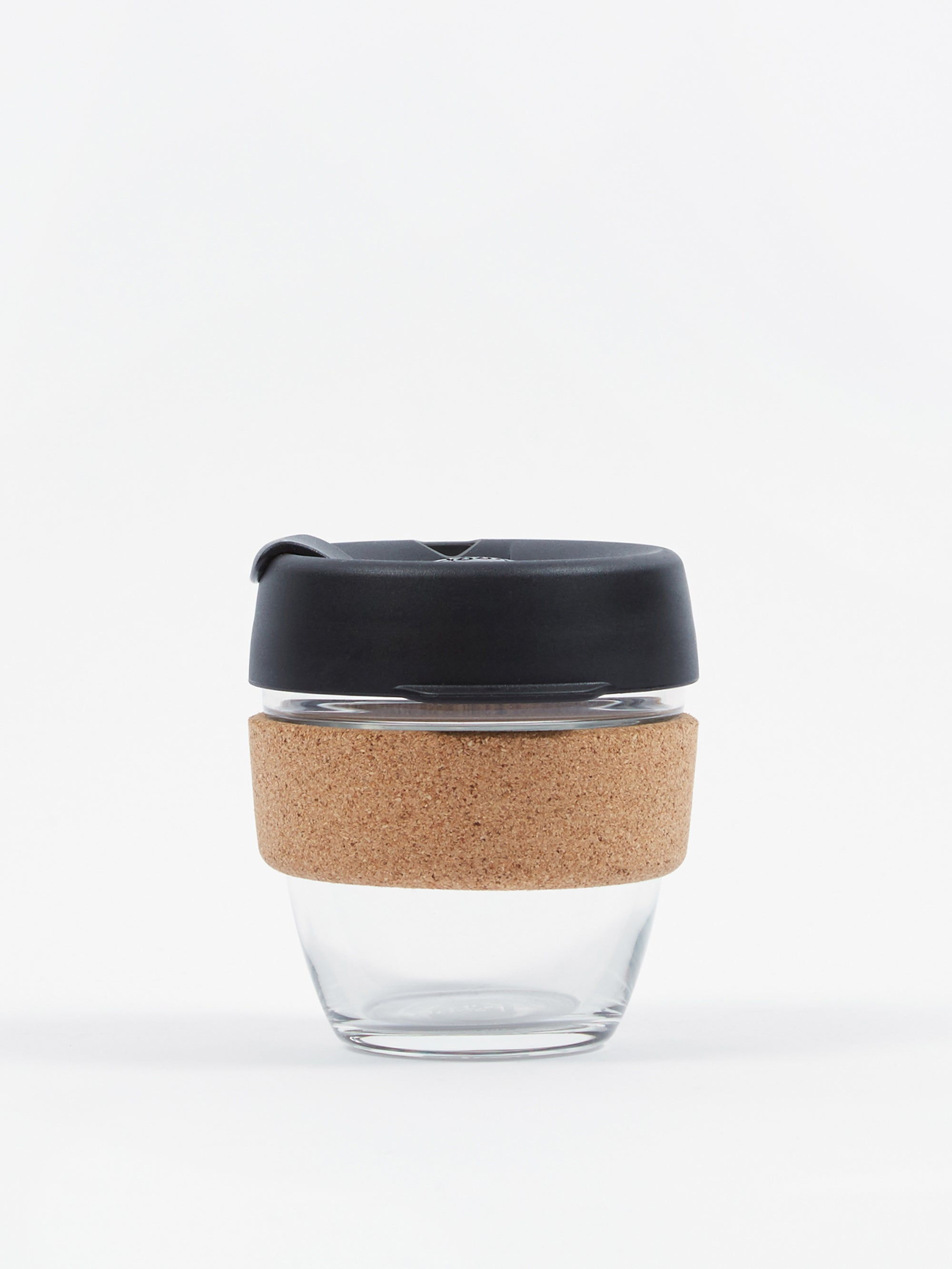 KeepCup Cork Brew Reusable 8oz Glass Coffee Cup Espresso
