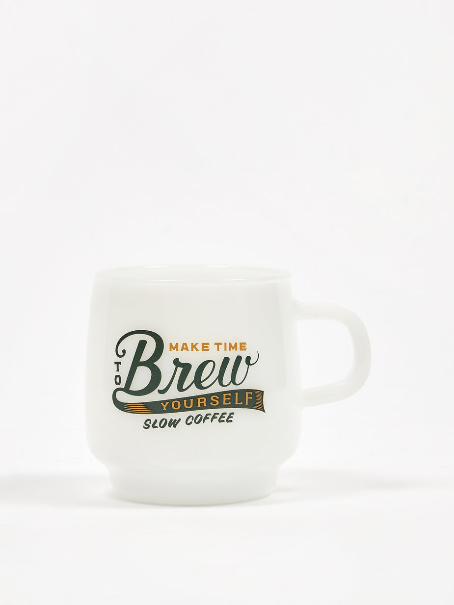 Kinto Kinto SCS Sign Paint Mug 340ml - Brew - White
