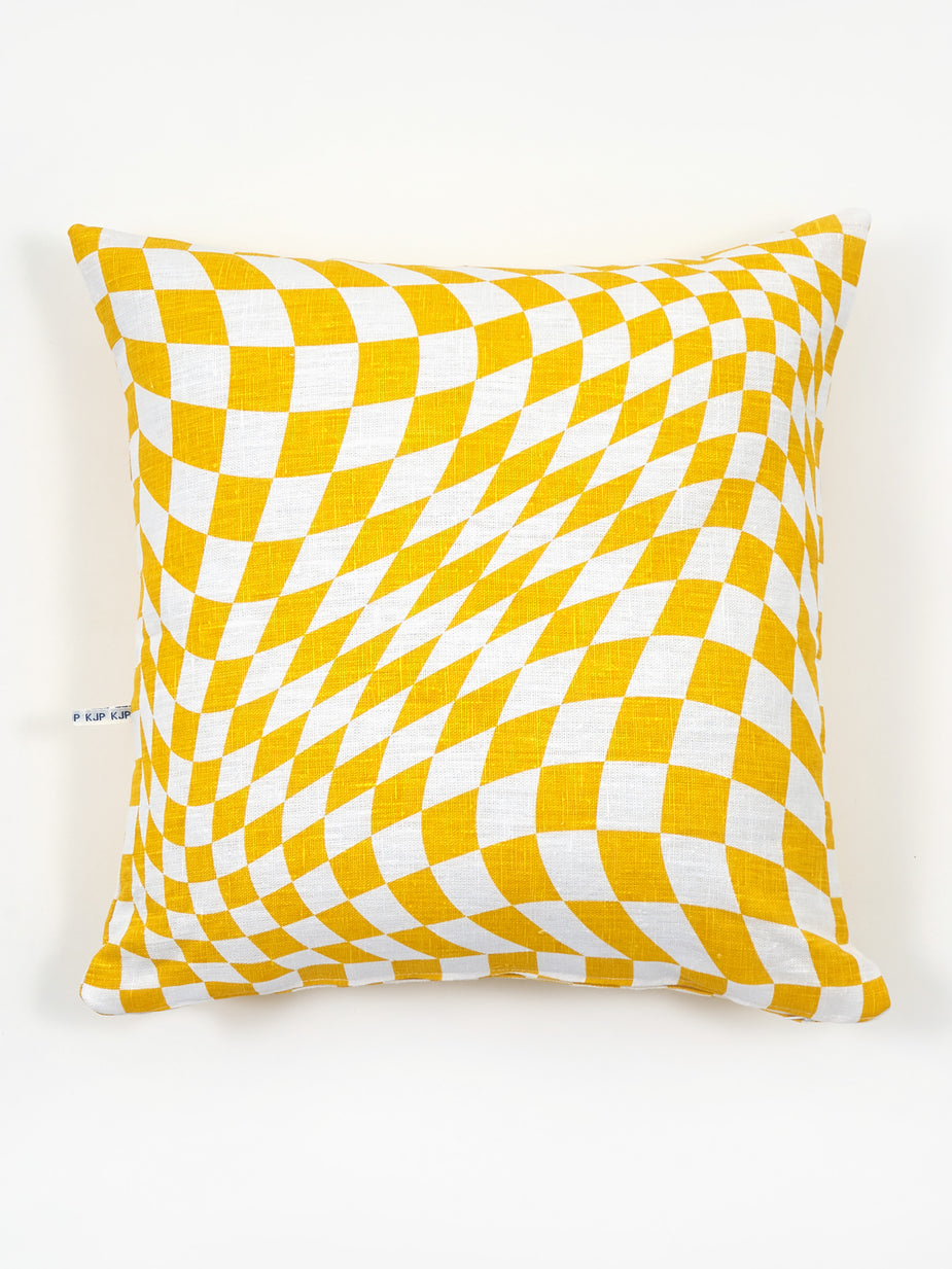 KJP KJP Agnes Cushion - Mustard - Yellow