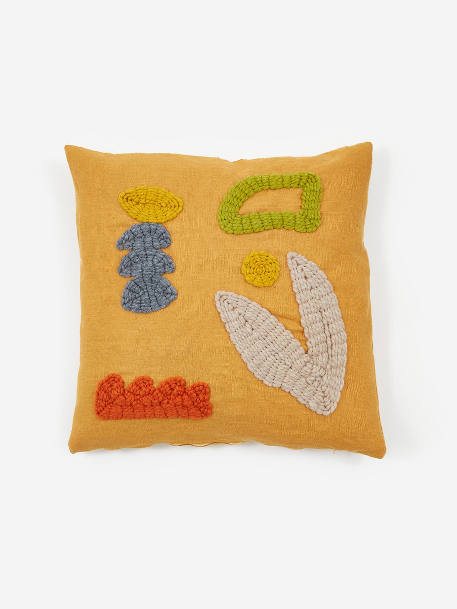 Laurie Maun Laurie Maun Orange Garden Cushion - Other