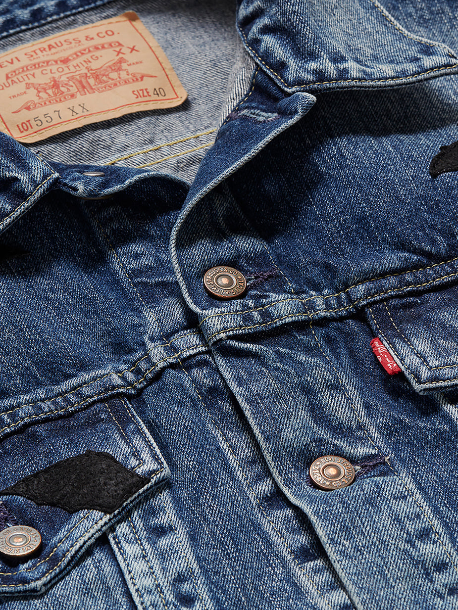 Levi's Vintage Clothing Levis Vintage Clothing 1961 Type III Denim Jacket - The Colony - Blue