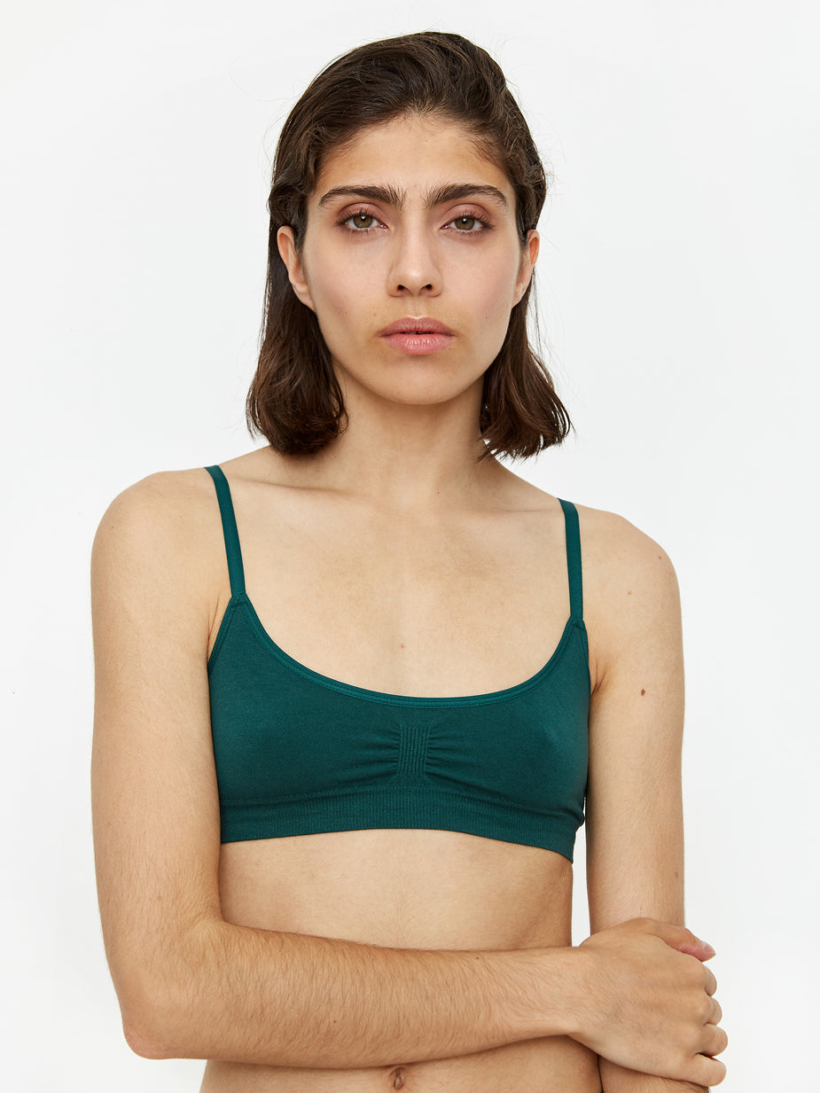 Les Girls Les Boys Les Girl Les Boy Super Soft Bra - Forest - Green
