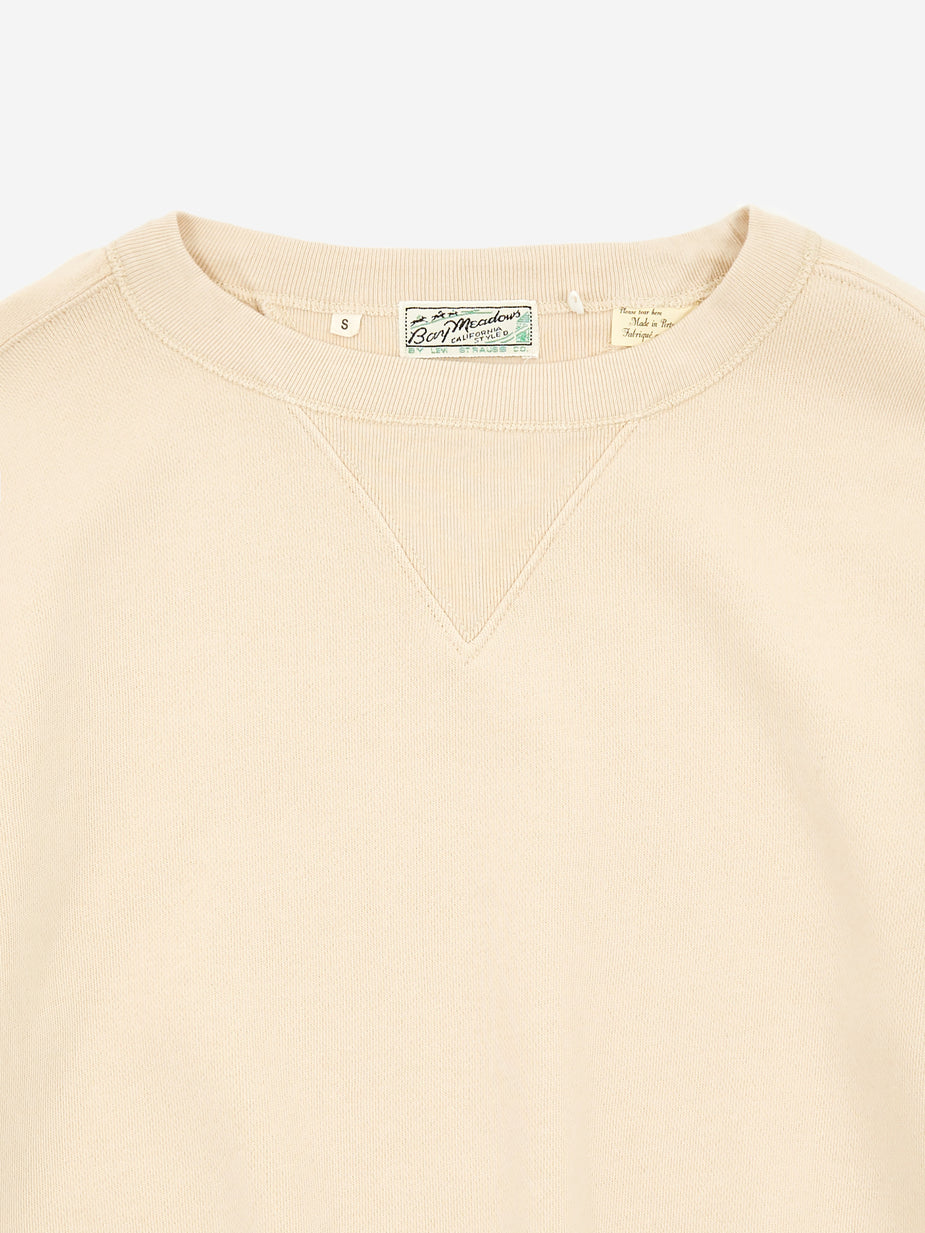 Levi's Vintage Clothing Levis Vintage Clothing Bay Meadows Sweatshirt - Double Cream - Neutrals