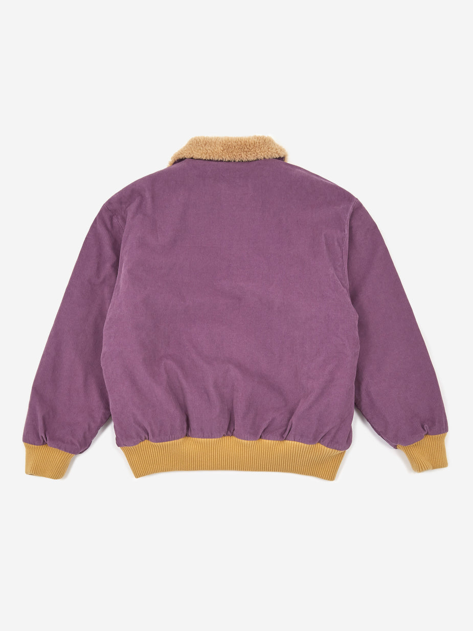 Levis Vintage Clothing Levis Vintage Clothing Cord Sherpa Jacket - Grape Jam - Purple