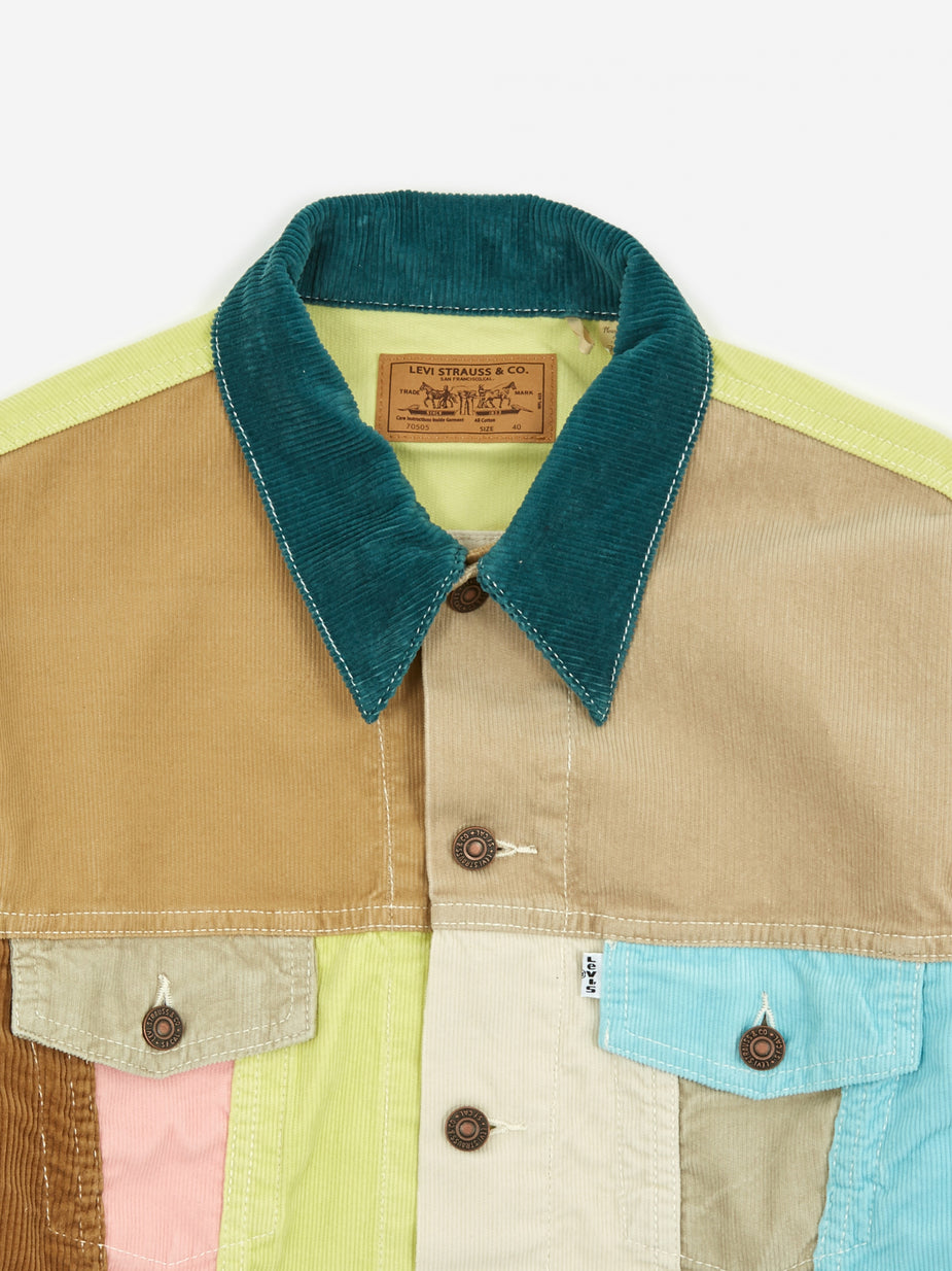 Levi's Vintage Clothing Levis Vintage Clothing Cord Trucker Jacket - Soap Box - Multi