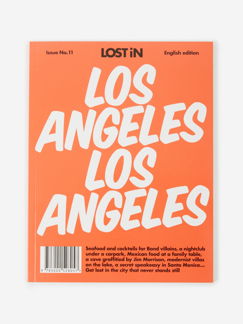 LOST iN LOST iN Los Angeles City Guide - Red