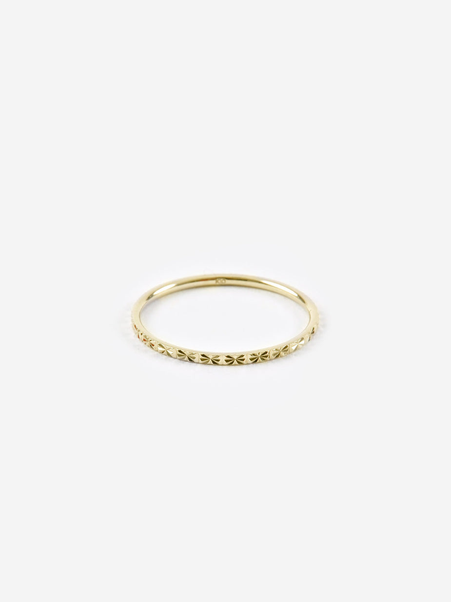 Lucy Folk Lucy Folk Promise Ring - Gold - Gold