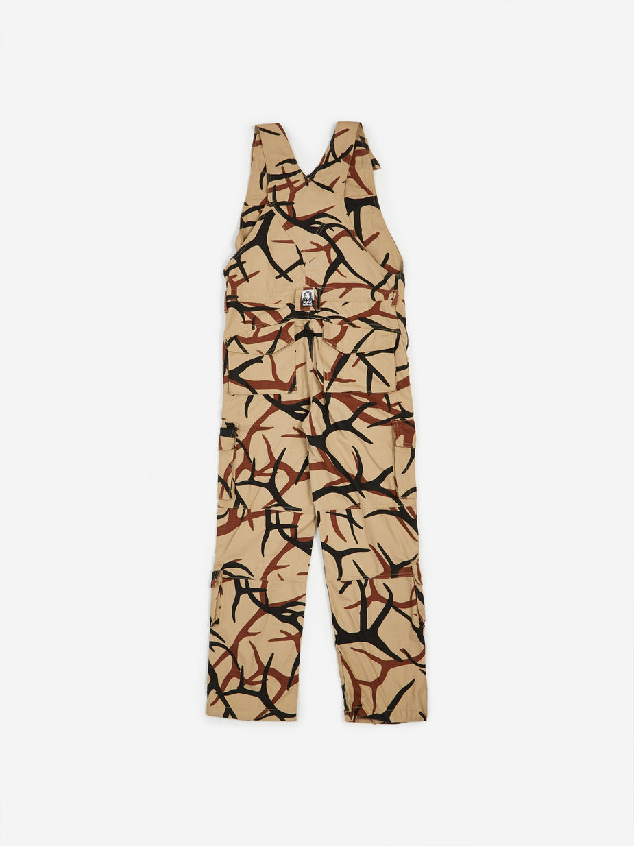 MadeMe MadeMe x X-Girl Cargo Overall - Tan - Orange