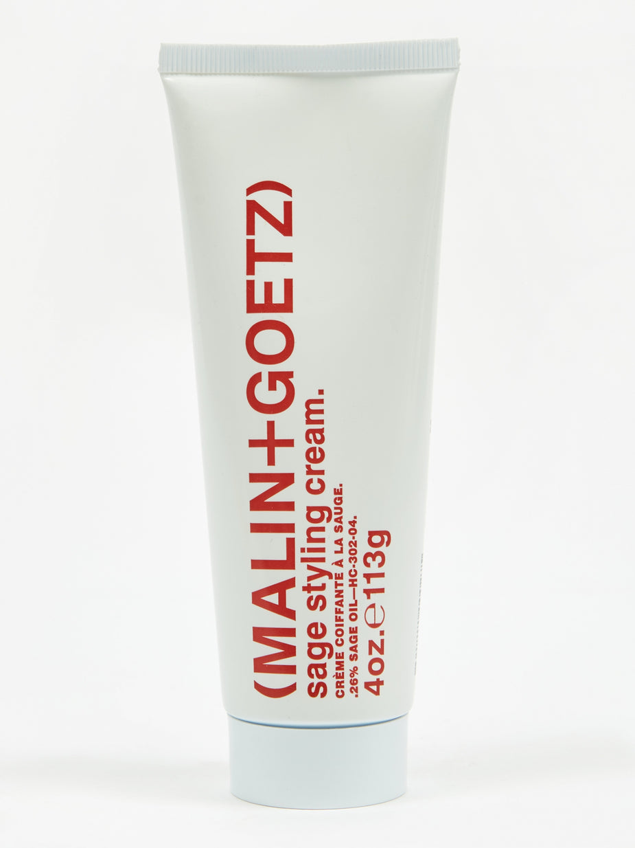 Malin+Goetz Malin+Goetz Sage Styling Cream - 118ml - White