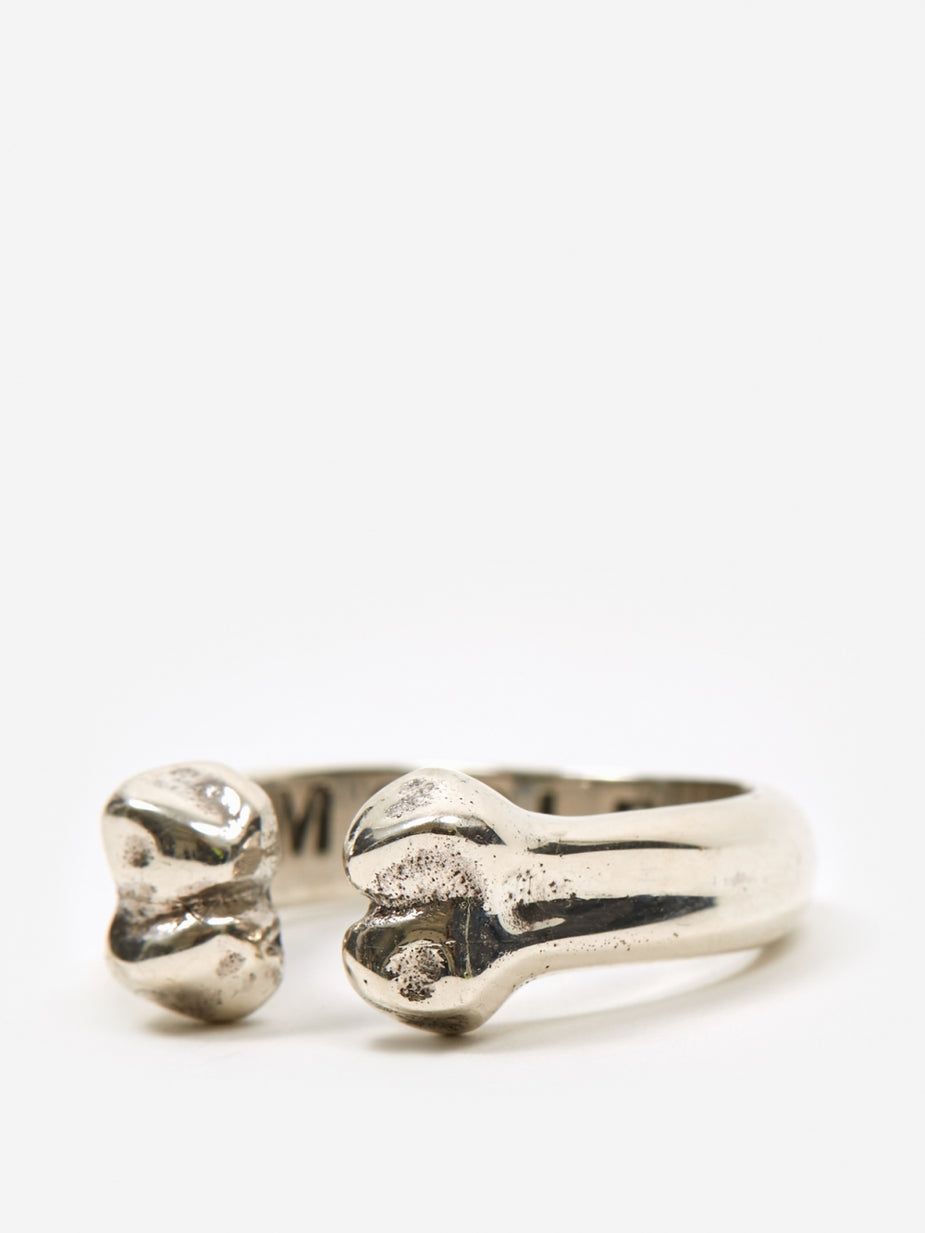 Maple Maple Bone Ring - Silver - Silver