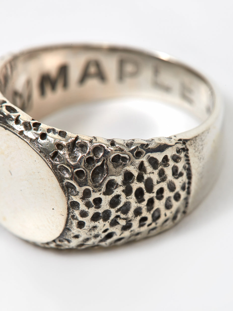 Maple Maple Nugget Ring - Silver - Silver