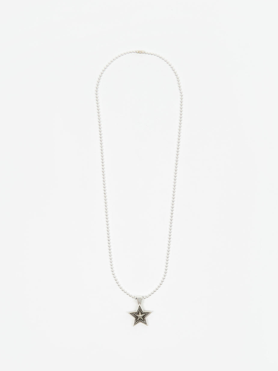 Maple Maple Star Chain - Silver - Silver