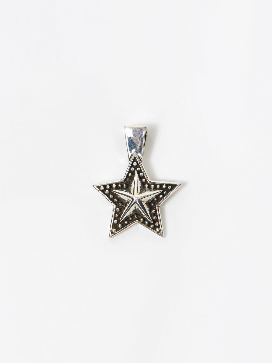 Maple Maple Star Pendant - Silver - Silver