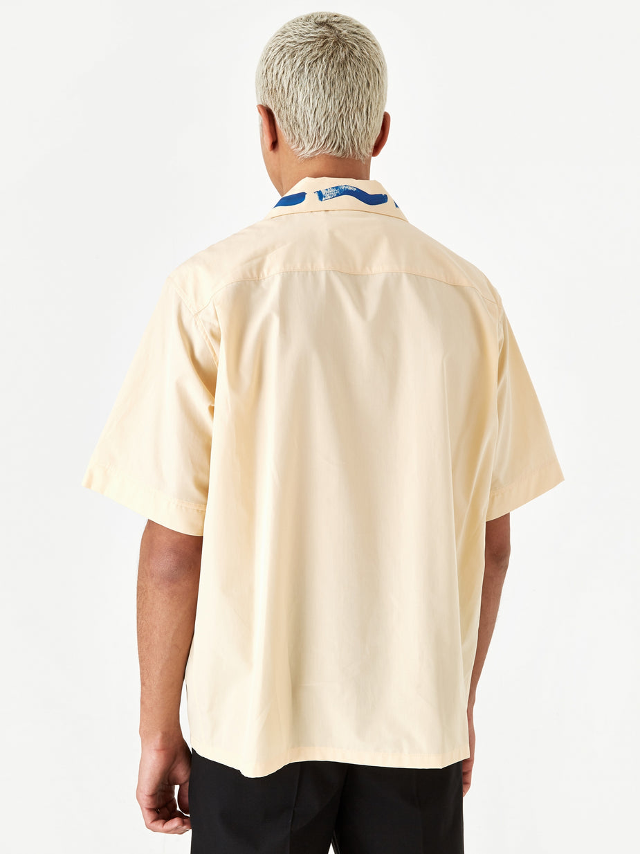 Marni Marni Cotton Poplin Shirt - Beige - Neutrals
