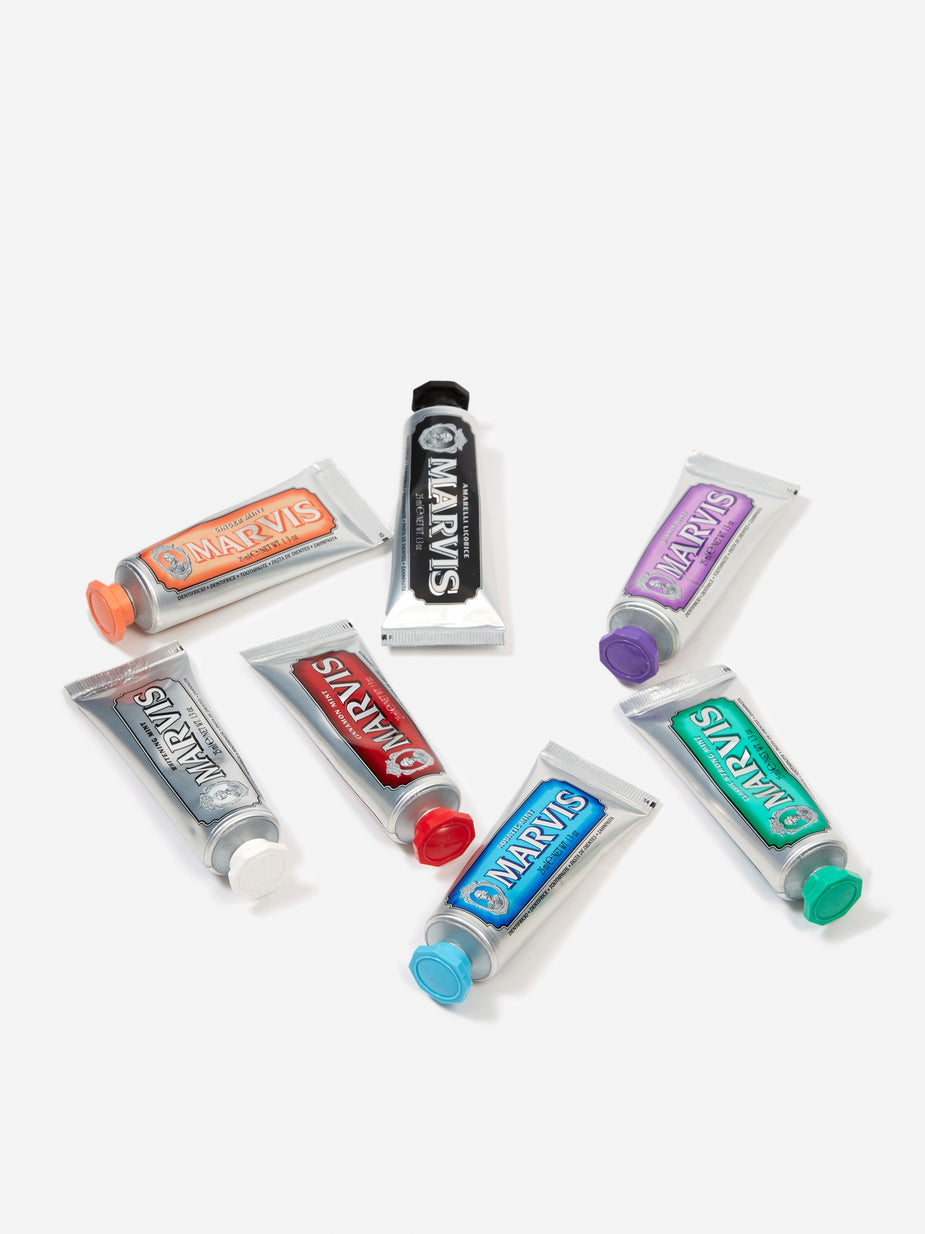 Marvis Marvis Toothpaste Flavour Collection (7 x 25ml) - Other