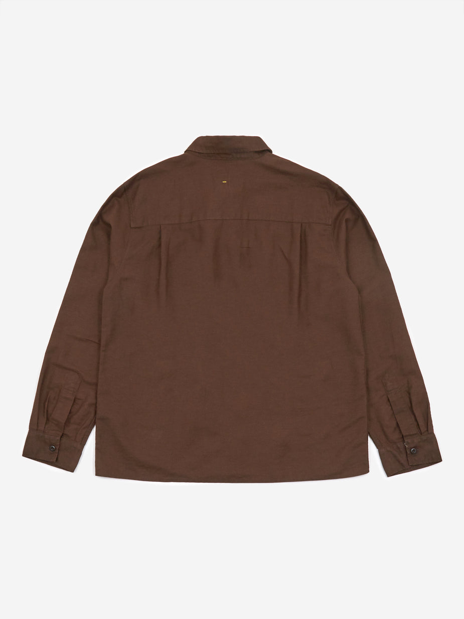 MHL. By Margaret Howell MHL. By Margaret Howell Painters Shirt - Chestnut - Brown