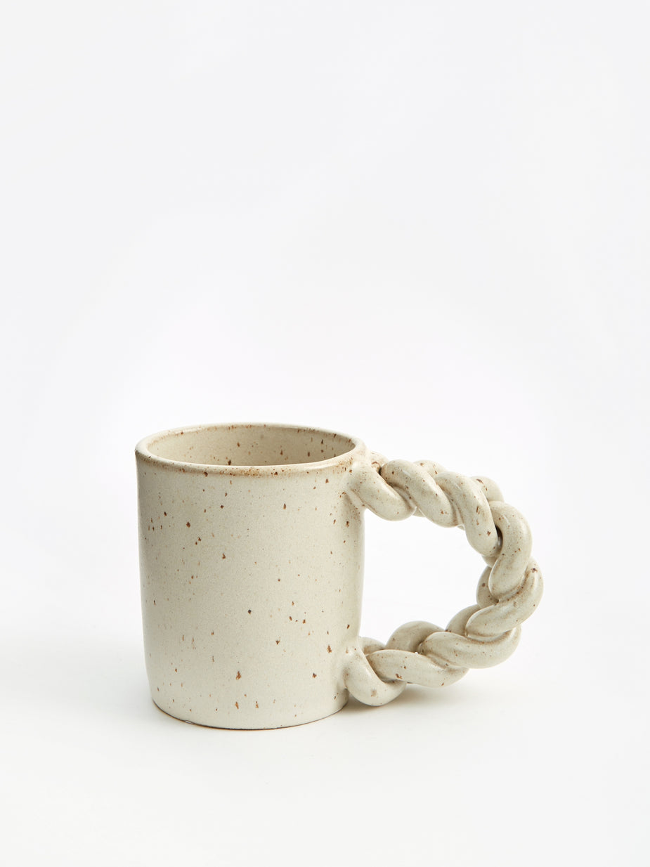 Miyelle Miyelle Plaits and Dat Mug - Satin Cream - Neutrals