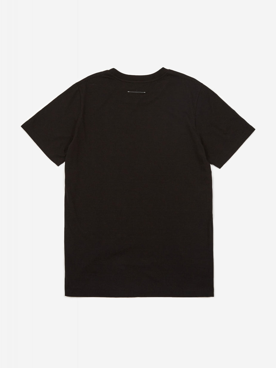 MM6 Maison Margiela MM6 Maison Margiela Unlimited Edition Shortsleeve T-Shirt - Black - Black