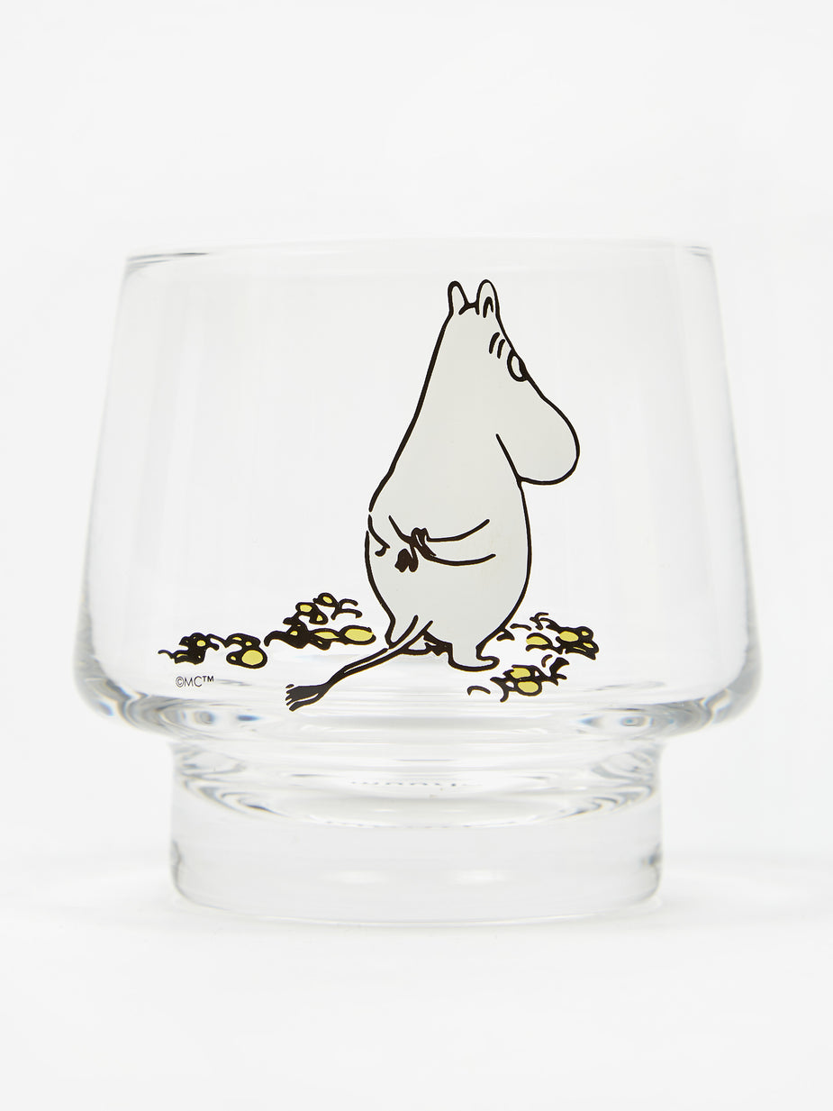Muurla Muurla Moomin Glass Cup/ Tea Light Holder The Wait - Multi - Multi