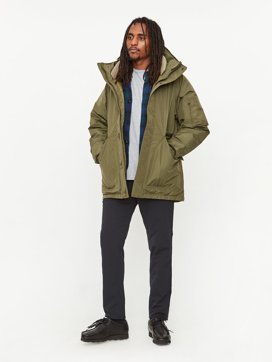 Nanamica Nanamica GORE-TEX Down Coat - Khaki - Green