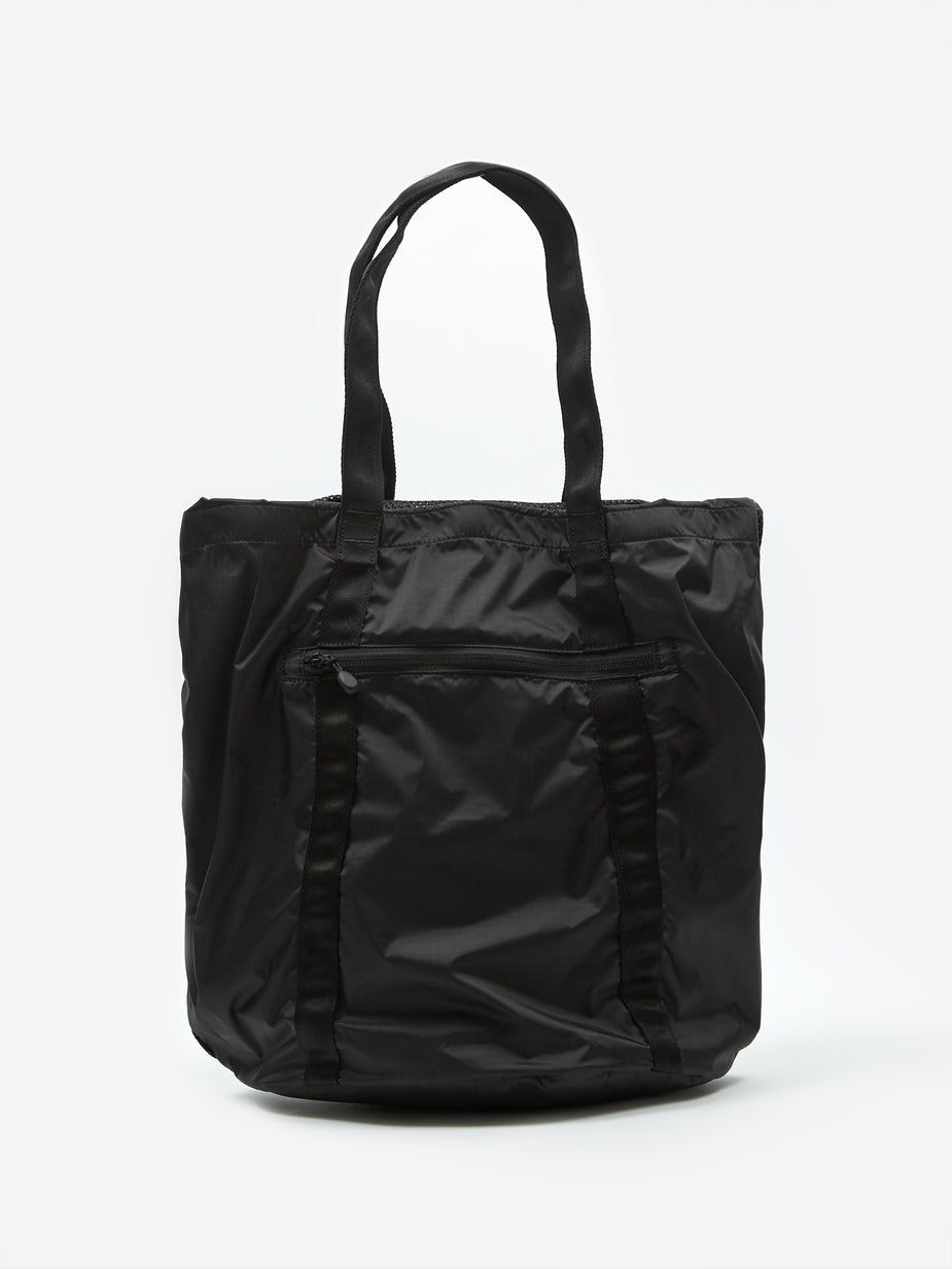 Nanamica Nanamica Packable Mesh Tote Bag - Black - Black