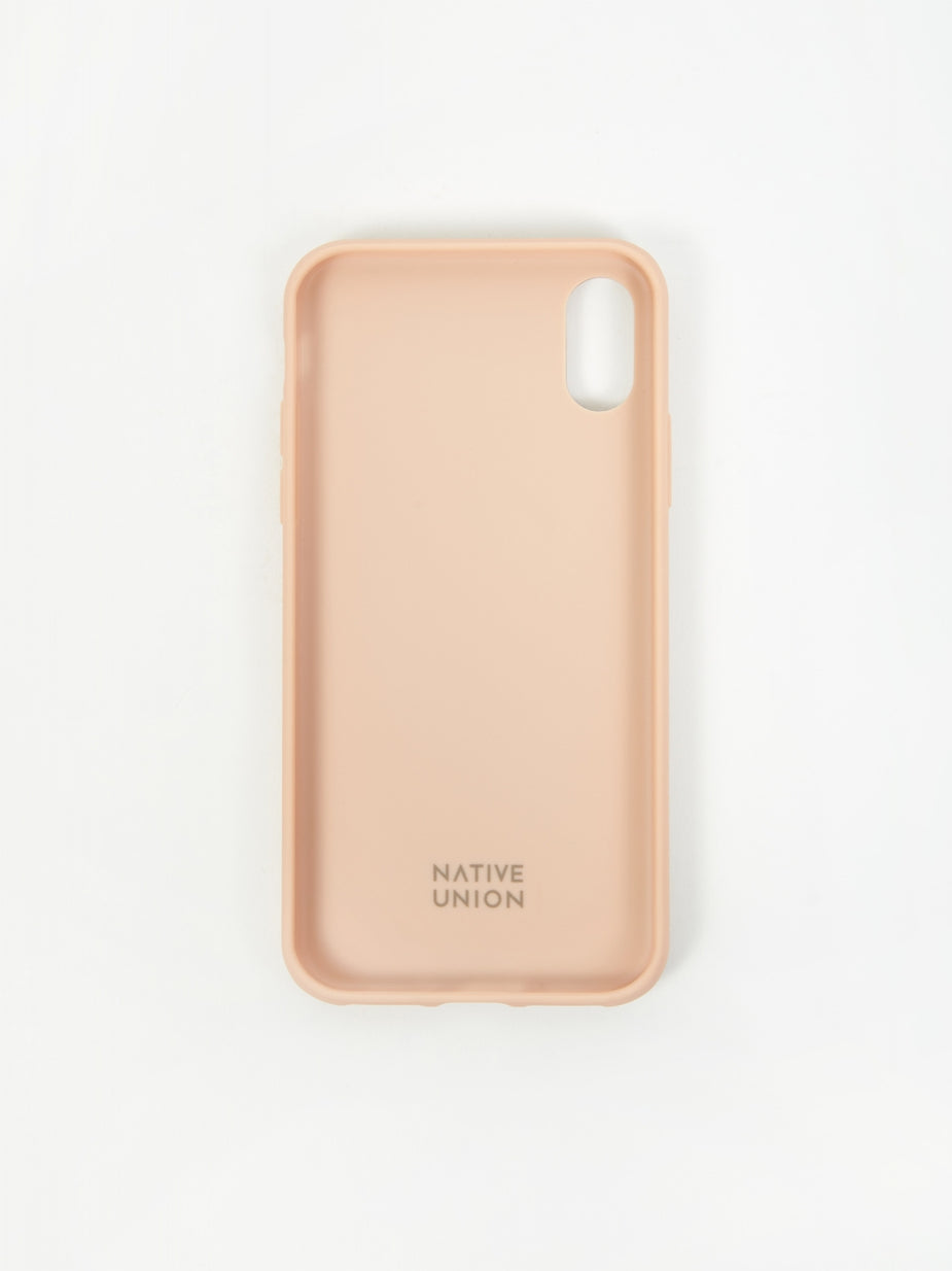 Native Union Native Union Clic Card iPhone Xs Case - Rose - Pink